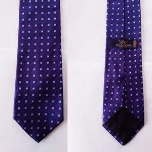 Brooks Brothers 346 Purple Box 100% Silk Tie $79
